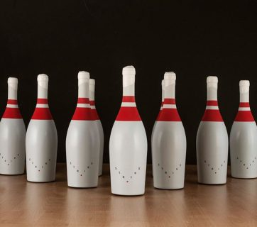 Get A Strike With This Bowling Pin Wine Bottle