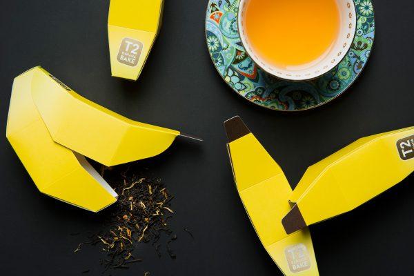 Tea in Fruit Origami Packaging Design