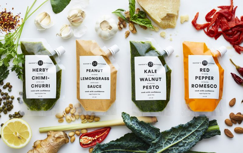 A Different Way of Packaging Sauces and Dressings