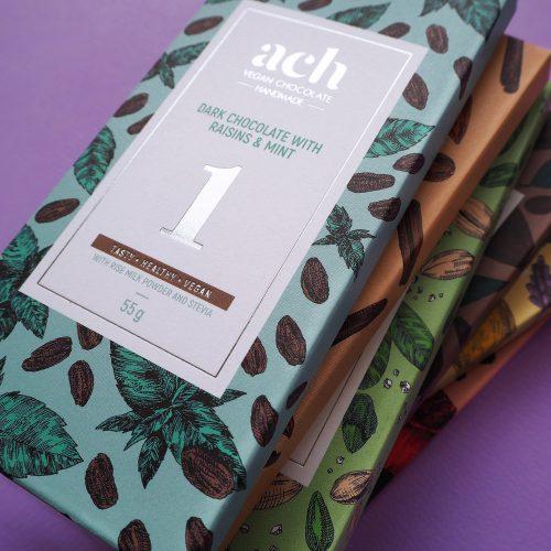 Ach Chocolate Packaging Gets Repackaged