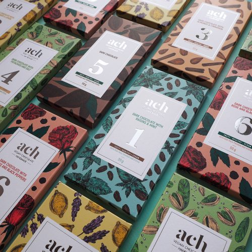 Ach Chocolate Packaging Gets Repackaged