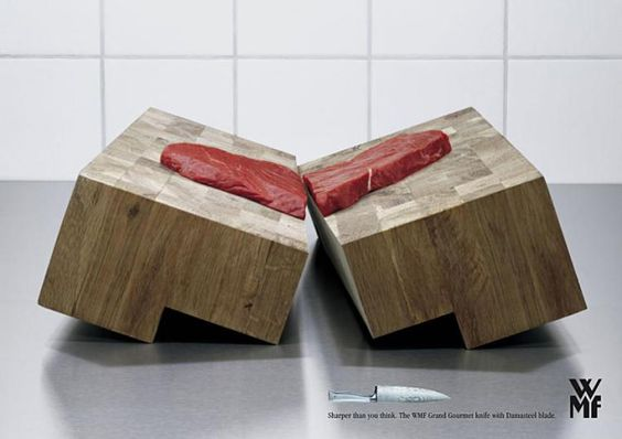 Check Out 20 Knife Ads With A Creative Edge