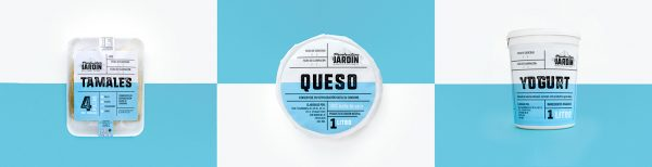 Modern Mexican Food Packaging for Productos Del Jardín