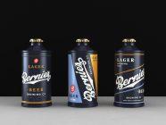 See The Amazing Beer Branding & Packaging for Bernie's Brewing