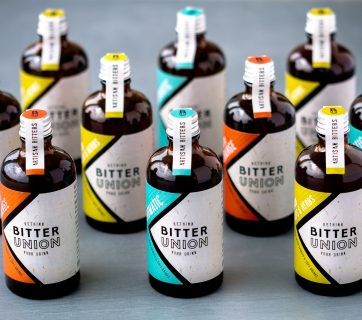 Stylish Packaging Design for Bitter Union