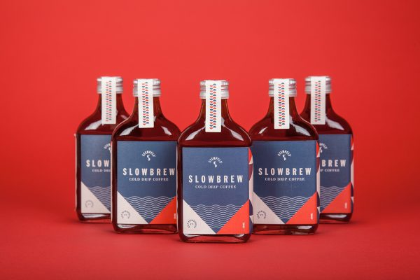 Slowbrew Cold Drip Coffee Packaging Design