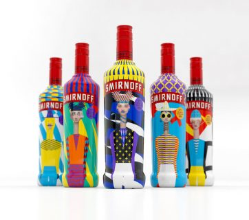 This Artsy Smirnoff Packaging Celebrates Diversity