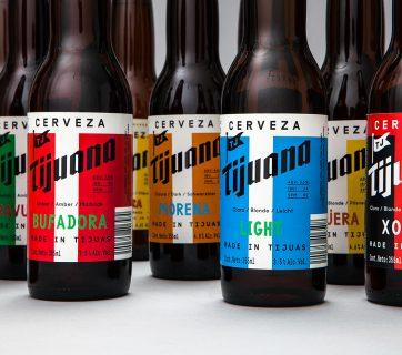 Beer Packaging Design for Cerveza Tijuana