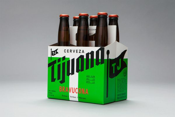 Beer Packaging Design for Cerveza Tijuana