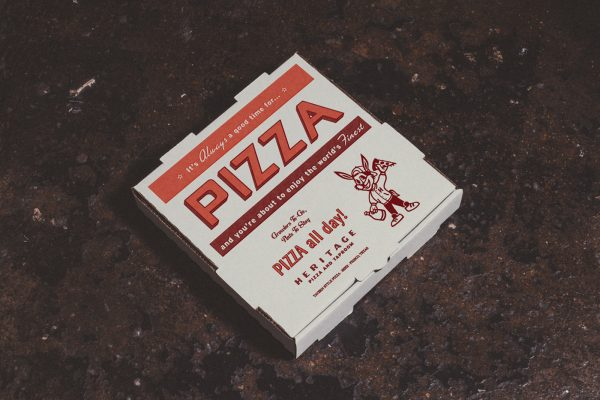 Branding and Interior Design for Heritage Pizza and Taproom
