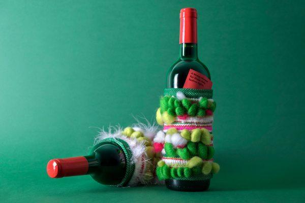 Wine Christmas Packaging.Christmas Wine Bottle Packaging The Winter Warmer