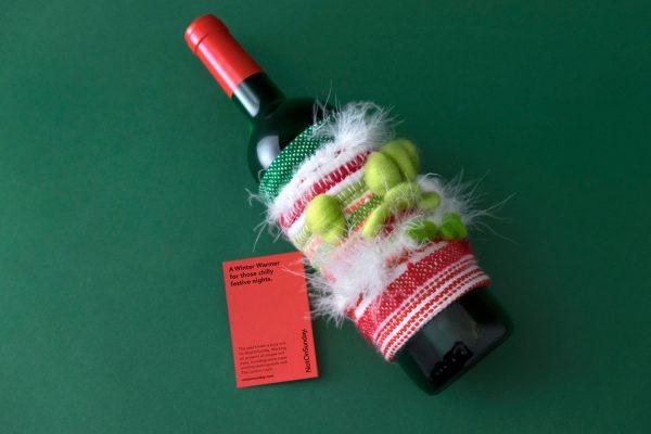 Christmas Wine Bottle Packaging - The Winter Warmer