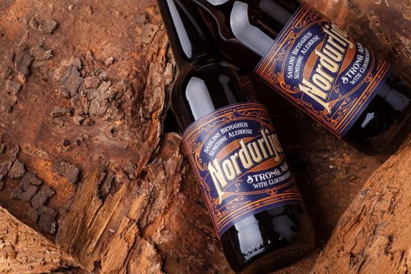 Cloudberry Beer Bottle Packaging Design - Check out Nordurljos
