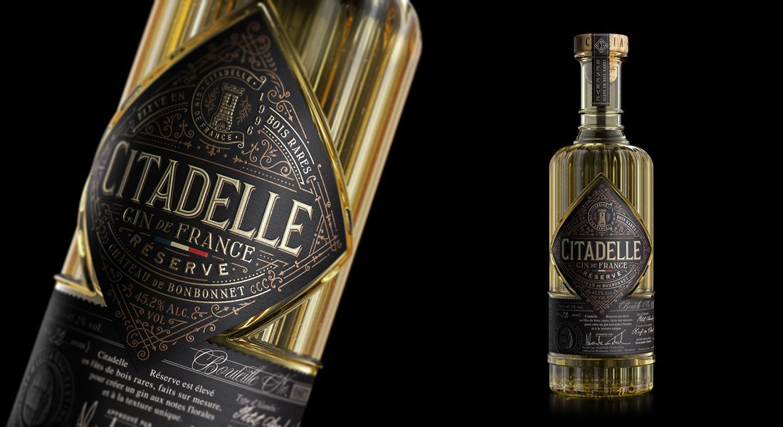Do Check Out This Citadelle Gin Packaging Design