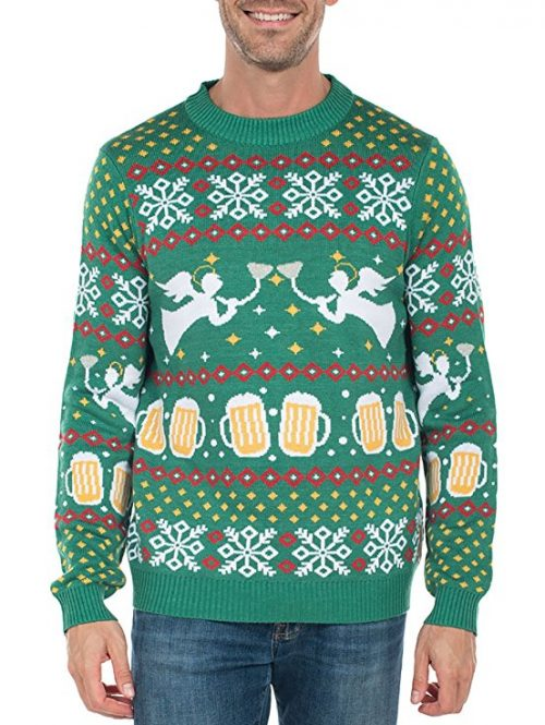 Foodie Christmas Sweaters - Food Themed Ugly Christmas Sweaters