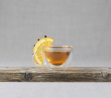 Warm Orange Clove Cocktail with Cognac