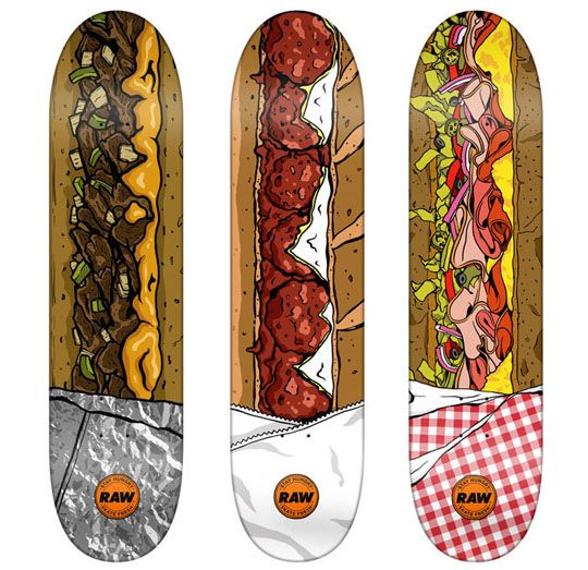 Food Skateboards