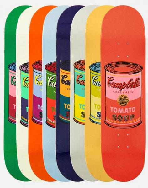 Food Skateboards Andy Warhol