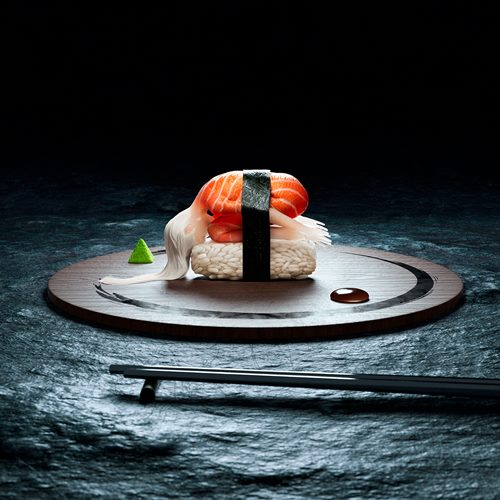 Human Sushi - See this Digital Art Project