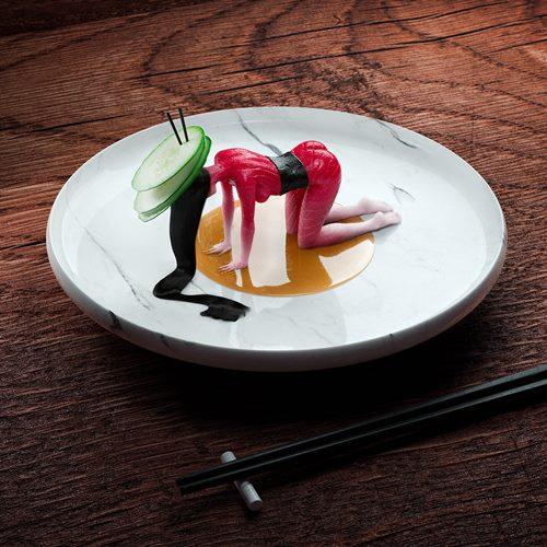 Human Sushi - See this Digital Art Project