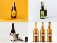 Minimalistic Beer Packaging Designs