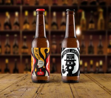 Strange Brew Packaging comes inspired by Psychedelic 70's Rock