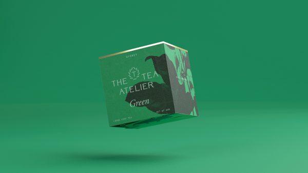 The Tea Atelier Tea Packaging Design