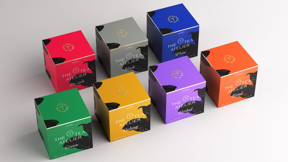 the tea atelier tea packaging design aterietateriet food culture
