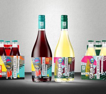 Mad Dogs & Englishmen Casual Wine Packaging & Branding