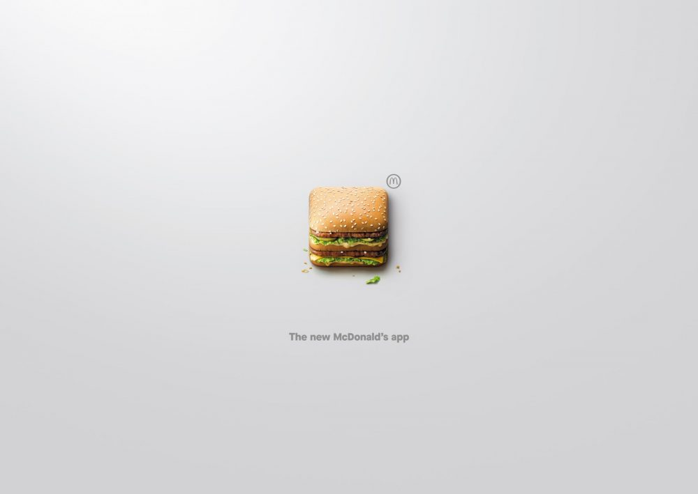 McDonald's Turned Their Food Into Apps In These Cool Ads