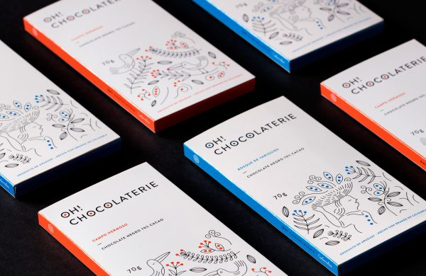Oh! Chocolaterie Packaging and Branding
