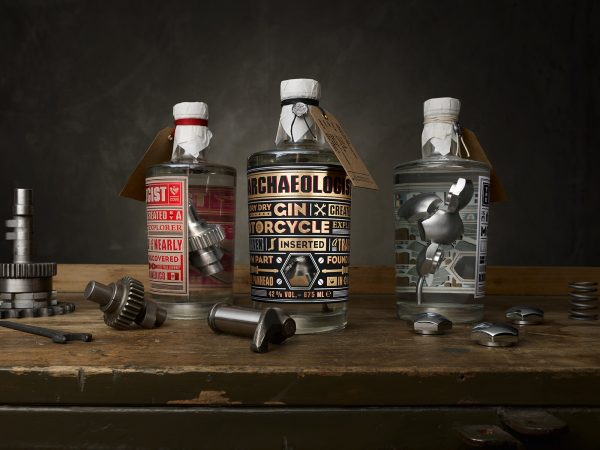 The Motorcycle Part Gin - Take a look at The Archaeologist Gin