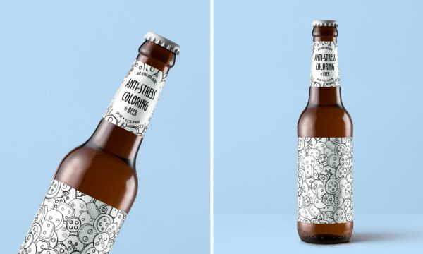 The Ultimate Anti-Stress Beer, Relax and Paint