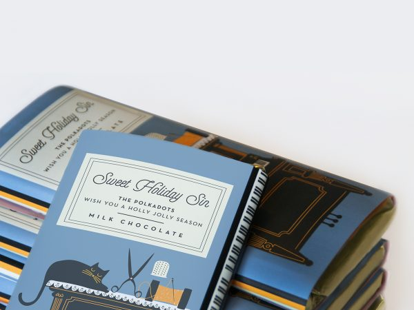 This Chocolate Comes with Illustrations Inspired by Classic Novels