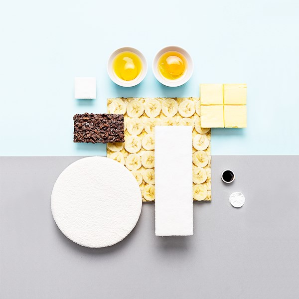 Breakfast as Graphic Design - What's for breakfast by Crudo