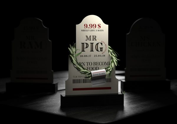 Meat In Coffins - This Packaging Will Make You Question Your Meat Consumption