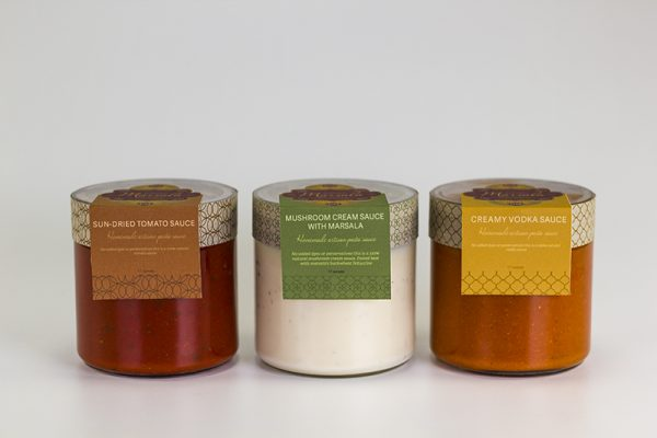 Pasta Sauce Packaging Design Inspiration