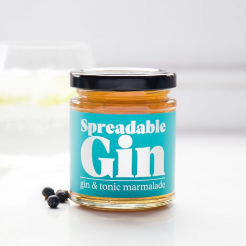 Spreadable Gin, Spreadable Beer, Spreadable Coffee, all available