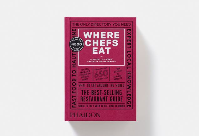 Where Chefs Eat Comes In Its Third Edition April 4th