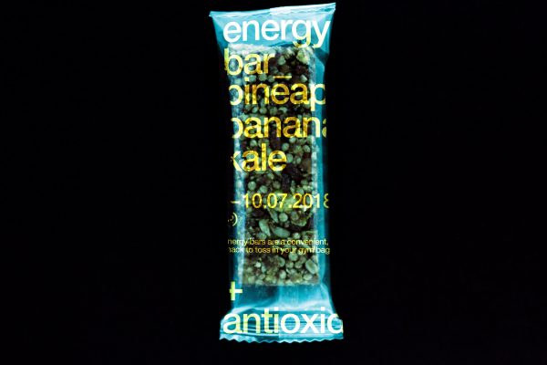 Clean But Cool Energy Bar Packaging Design