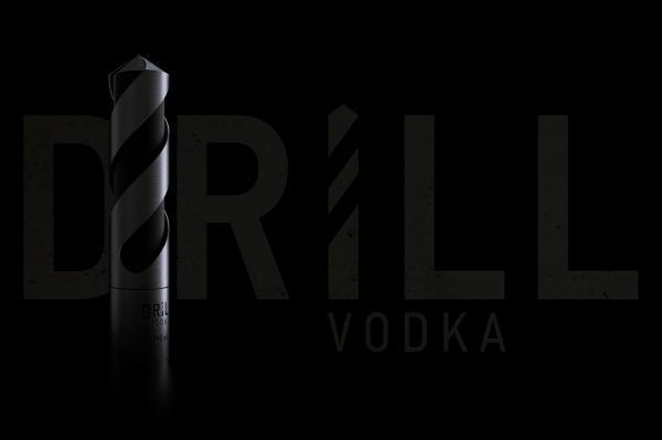Drill Vodka Comes In a Drill-Shaped Bottle