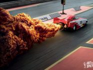 These Creative KFC Ads Replaced Fire With Chicken