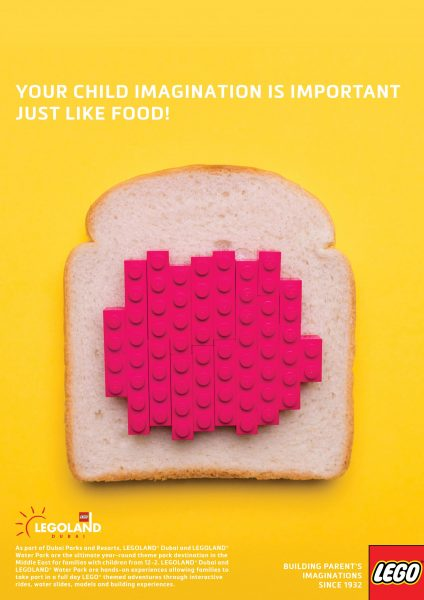 Lego Is Food, if you use your imagination like in these Lego Food Ads