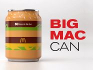 The McDonald's Big Mac Can of Coca-Cola