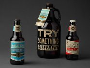 Black Hammer Brewery Beer Packaging Design