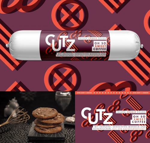Cutz Frozen Cookie Dough Is Both Clever and Look Great