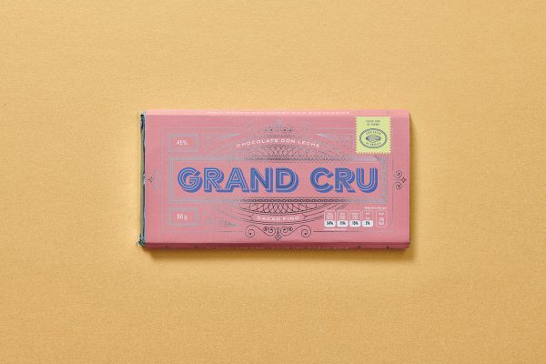 Grand Cru Chocolate Packaging Design