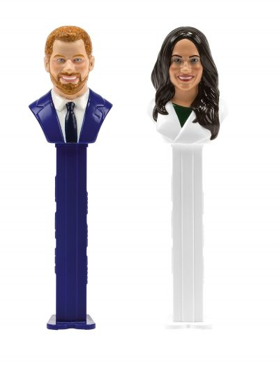 Prince Harry and Meghan Markle Pez Dispensers