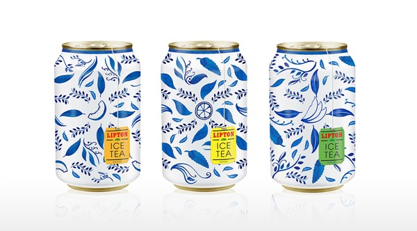 Ice Tea Packaging Design Inspiration