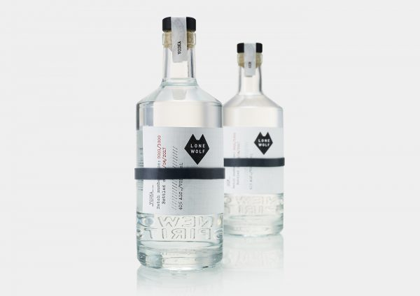 LoneWolf Spirits Branding and Packaging Design